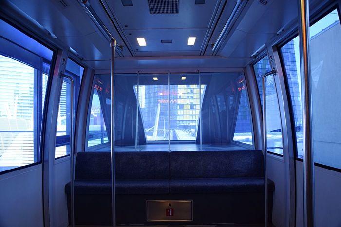Tram Train Ghost Train Empty Train Las Vegas Nevada Travel
