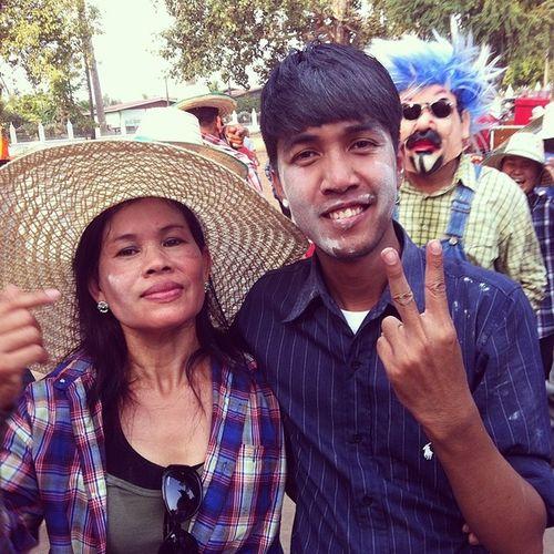 แม่ใคร แม่ใคร อิอิ @mook_kingaring Uttaradit งานบวช