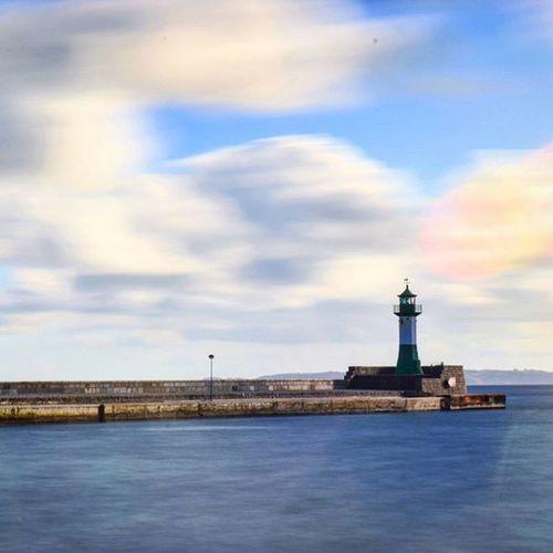 Heimathafen ❤ f/36 und 45sek.. Und ein bisschen Wind..🙌🍃⛅ Wirsindinsel Rügen Heimat Baltic Balticsea Ostsee Water Longtimeexposure Sun Waves