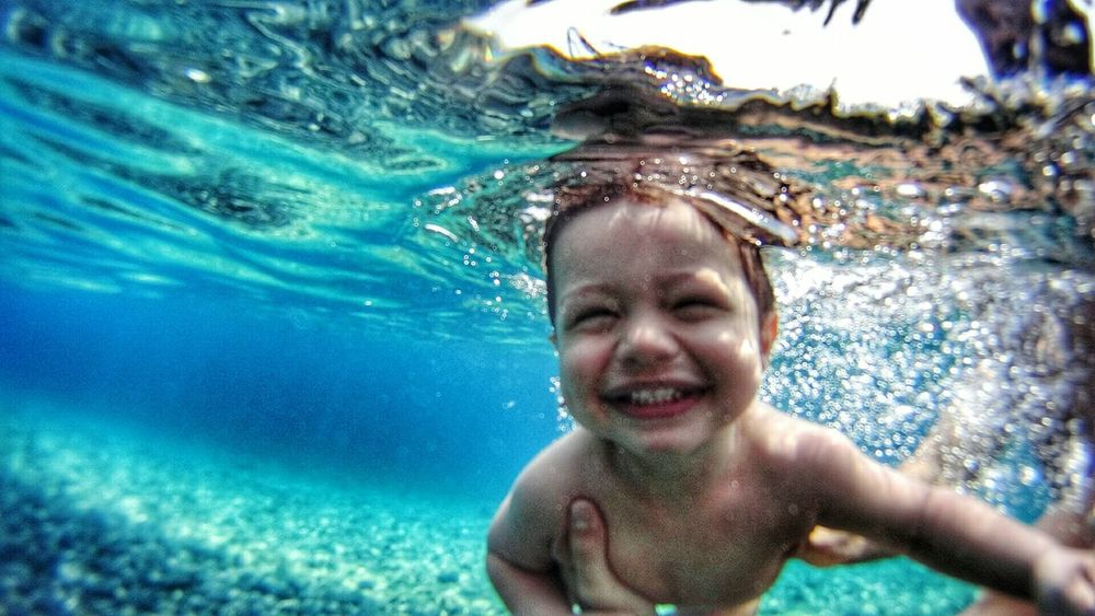 My son! He is only 18months old and he loves the sea! RePicture Growth My Best Photo 2015 Underwater Myson Mylove Mylife Kidsphotography Childhood Children Photography Smile Underwater Photography Underwaterphotography Underwater World Little Boy My Son Swimming Life In Motion Need For Speed