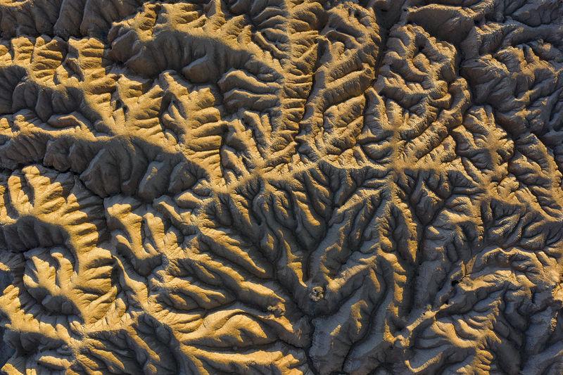 Full frame shot of sand on field