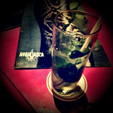 Ayahuasca Inka Mojito Drink
