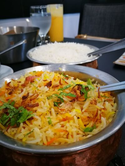 Indian Food North Indian Food Biryani Rice Rice Basmati Rice Foodphotography Foodlover Bestfoodintown Carbohydrateloading