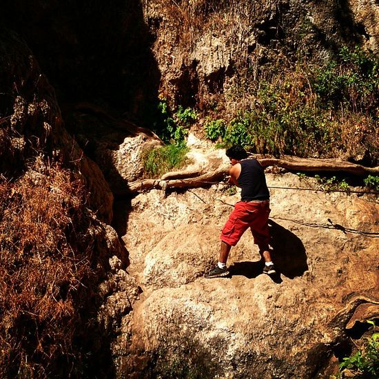 """Scaling a """"Waterfall"""" Drought Hike Lastofsummer"""
