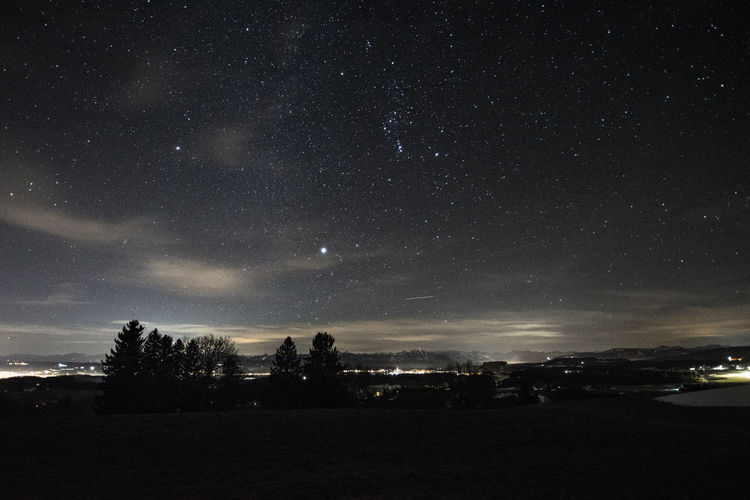 Grünten Art Artforyourwall Astronomy Beauty In Nature Canon Constellation Galaxy Illuminated Landscape Mountains Nature Night No People Outdoors Photography Scenics Sky Sony Sonyalpha Star - Space Starry Tranquil Scene Tranquility Tree
