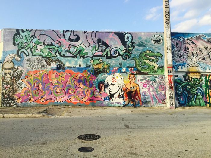 The Places I've Been Today Wynwood. Love this place is soo alive