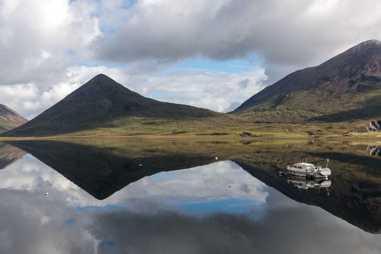 Loch Slapin - Skye Island - Scotland Loch  Slapin Reflection Cloud - Sky Scotland Landscape Outdoors Nature