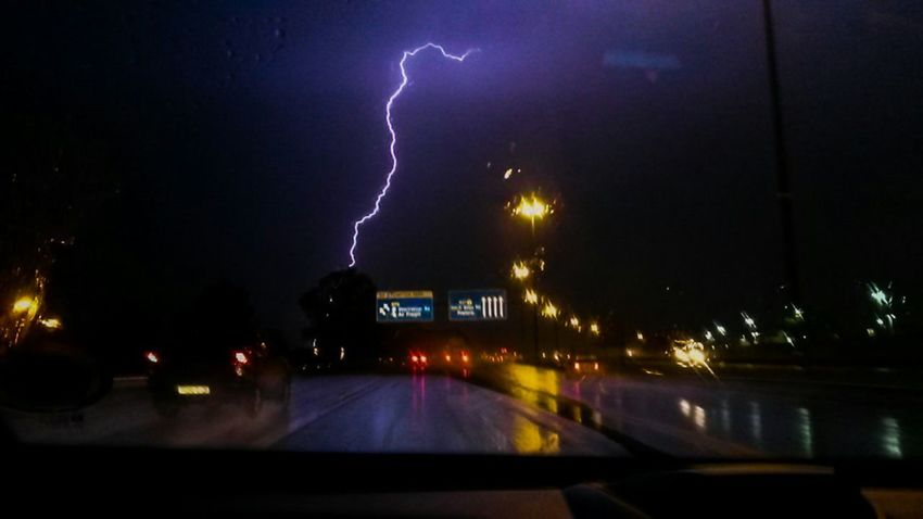 Beautiful lightning strike, South Africa. Lightning Light Rain Thunder Thunderstorm Storm Night Lightning Power In Nature Storm Cloud Extreme Weather Outdoors City Sky