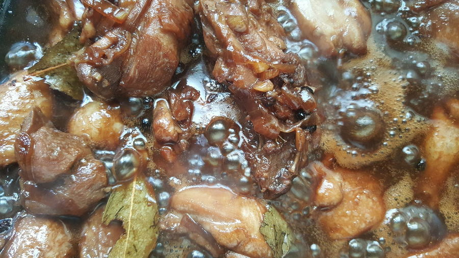 Chicken adobo Food Filipino Food Pinoy Food Chicken Adobo delicious Tasty Filipino Cuisine Filipino Dish