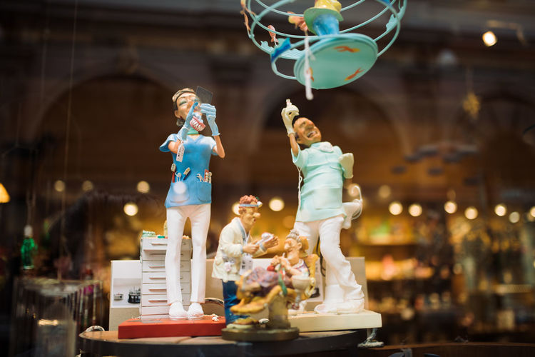Dentist Show Toys Art Artdeco Cabinet Dolls Miniature Play Toy Toyphotography