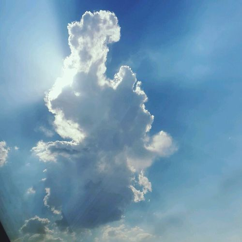 Love Amazing Photo Blue Sun And Clouds
