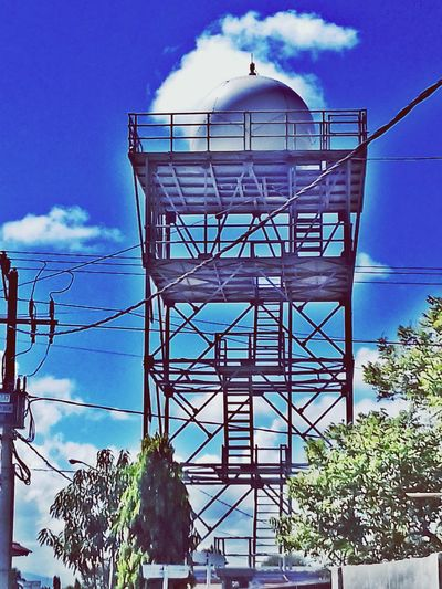 Tower Of Weather Meteorological Station Klimatological And Geofisical EyeEm Indonesia