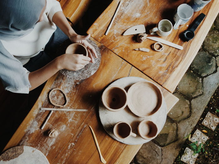 Pottery love.