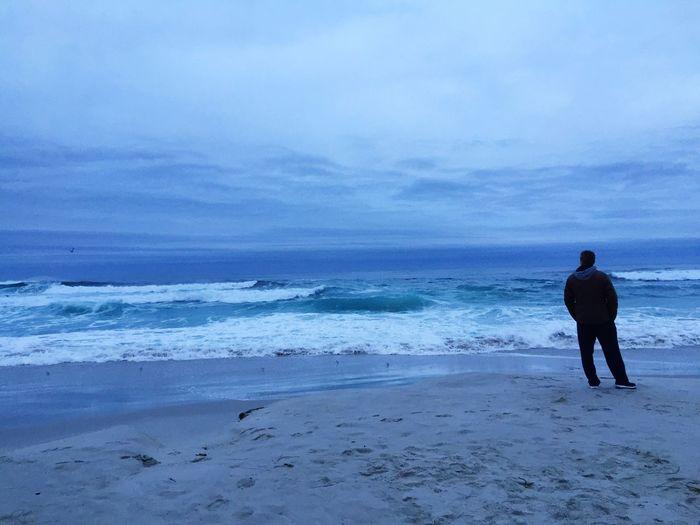 Dawn Of A New Day Ocean Beach Playa Mar Amanecer California Contemplating Good Morning Morning