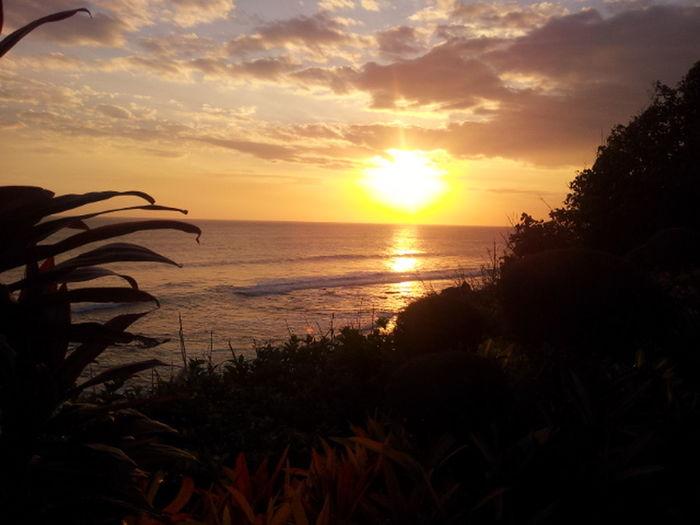 Bali Sunset Sun Clouds Skylovers Sky Nature Beautifulinnature Naturalbeauty Photography Landscape [a: [a:17747] EyeEm Nature Lover EyeEm Nature On The Way