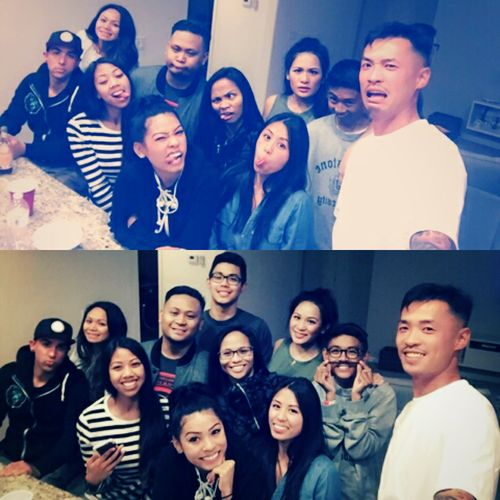 No matter how long or how far we have been apart ▪ our bond still stands strong ▪ this is a solid as it gets ▪ Love my Family!! DasallaFamily DasallaKlan DasallaCousins