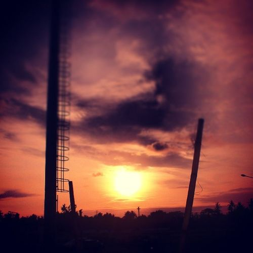 Sunset Sisa SultanAgung 8-1-2014