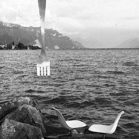 Jean Pierre Zaugg La Fourchette Vevey, Switzerland Blackandwhite Lac Léman