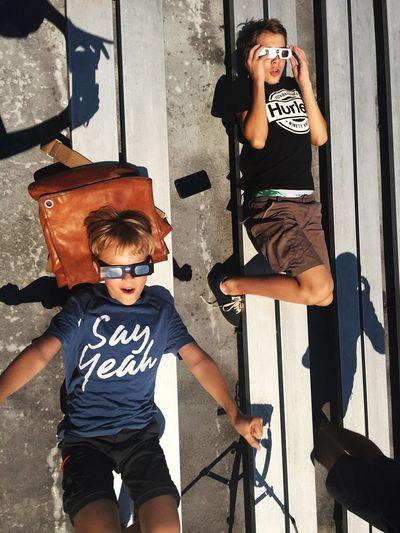 Be. Ready. Boys Sun Solar Eclipse
