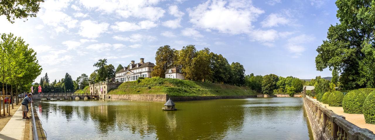 Bad Pyrmont Architecture Bad Pyrmont Castle City Cityscape cityscapes Kurstadt No People Palace Pavillion Village