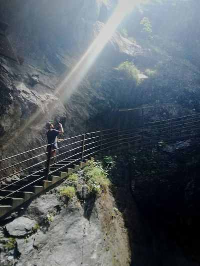 Nature Mountain waterfall schweiz adventurers discover the world Signal From The Universe god