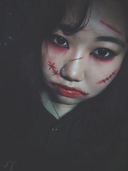 My Halloweenmakeup