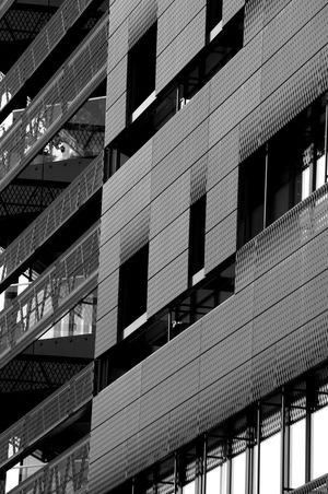 Architecture Black & White Black And White Blackandwhite Building Exterior Built Structure Day Graz Low Angle View No People Outdoors Urban Urban Exploration Urban Geometry Urban Landscape Window