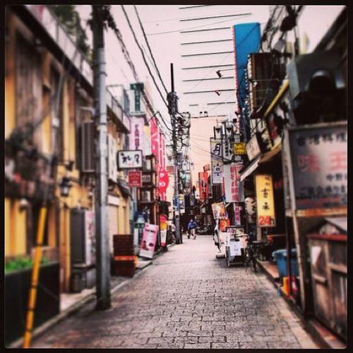 Back streets of Nakano Nakanobroadway Tokyo Japan