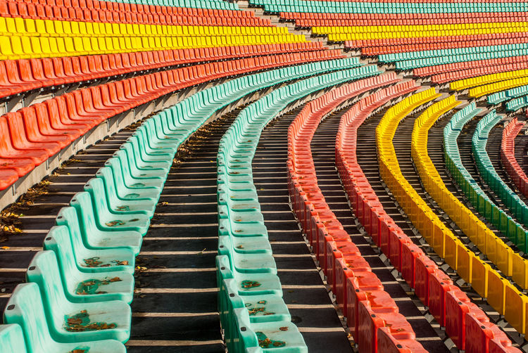 View Of Stadium Seats