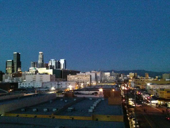 Insomnia sucks... Losangeles Citynights Downtown Los Angeles Sky