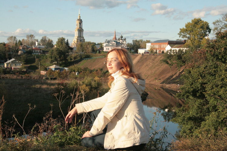 Countryside Old Town Outdoors Real People Russia Sunny Day Suzdal Traveling