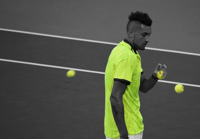 The Color Of Sport Tennis Professional Tennis Player Kyrgios US Open Tennis Court Tennis Player Tennis Tournament Tennis Ball Flushingmeadows