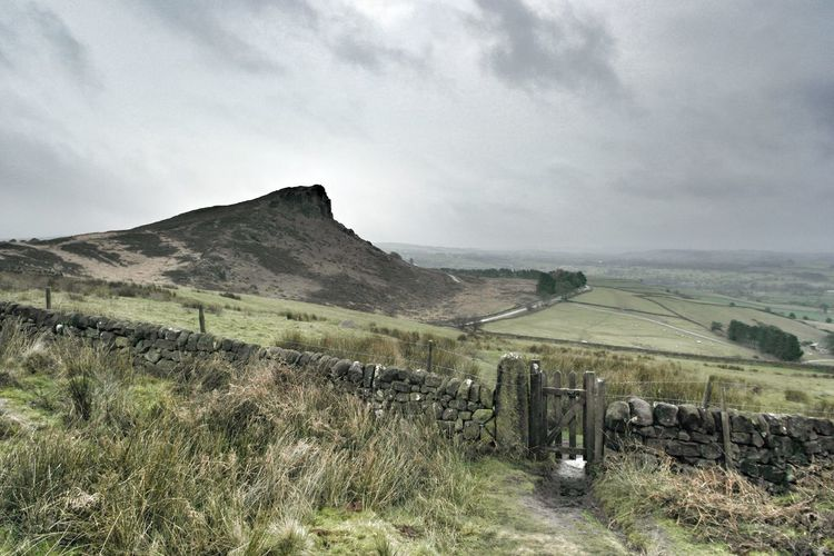 Britain Landscape Moorland Nature Outdoors Peak Disrict Physical Geography Remote Rock Formation Scenics