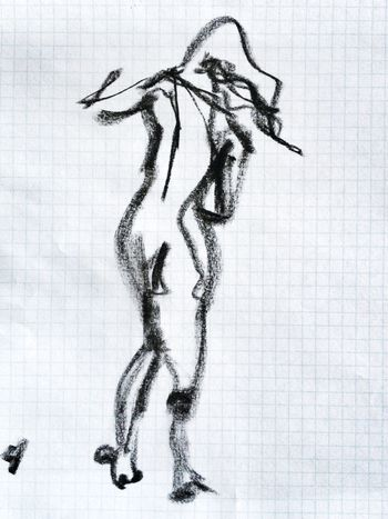 Gesture drawings, practice. Drawing Drawingaday charcoal