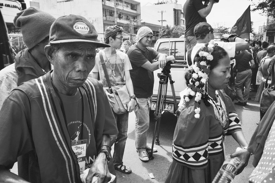 Lakbayan 2016 | Indigenous peoples fighting for their right to self-determination and just peace Real People Protest Rally Crowd Lumad Indigenous People Eyeem Philippines Photojournalism Street Photography People People Photography People Watching People Of EyeEm People And Places People Together Black And White Black & White Black And White Photography Monochrome Monochrome Photography Monochrome_life Monochrome _ Collection Monochrome_Monday Noir My Year My View