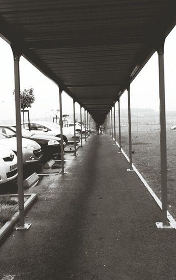 Long Urban Geometry Dark Blackandwhite Unhappy Sadness Darkness Couloir Sombre Simplicity