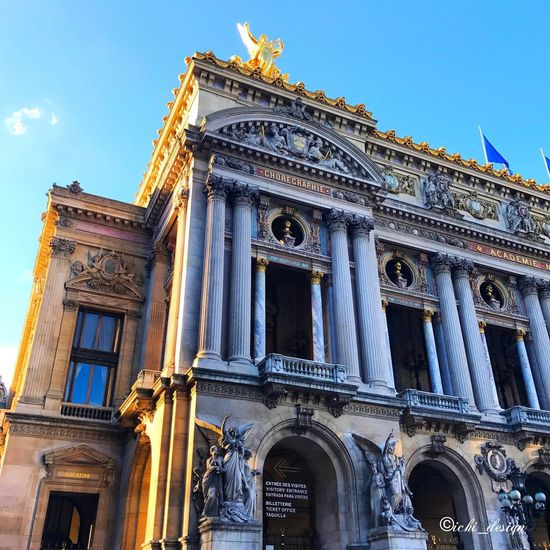 Opera in Paris Architecture Building Exterior Built Structure History Paris France Operagarnier
