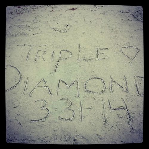 Triple Diamond 3 /31/14 Goals