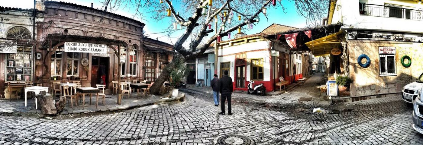 Built Structure Walking Full Length Street Old City Ayvalık Beautiful Bestoftheday