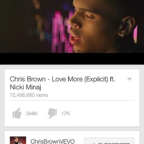 GetLoveMoreVevoCertified http://twitter.com/ChrisBrownPromo/status/454065775364833280/photo/1