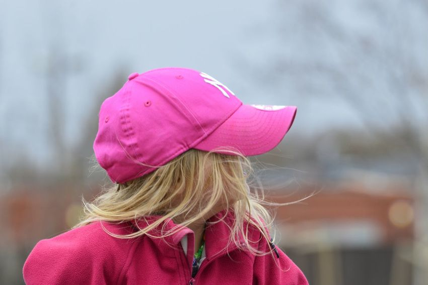 City park Cap Park - Man Made Space Wet Wearing Sky Wind Windy Outdoors Park Springtime Close-up Freedom Girl Pink Color Wear Urban Lifestyle City Life City Park Warm Clothing Blond Hair Child Childhood Headshot RainDrop Monsoon Adventures In The City Visual Creativity Focus On The Story #FREIHEITBERLIN Urban Fashion Jungle