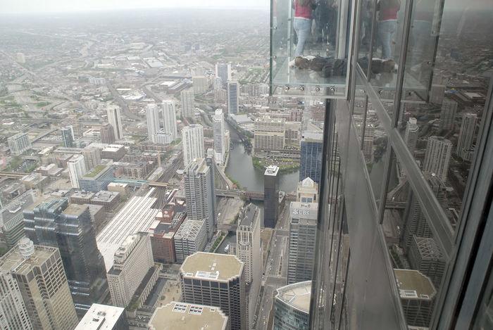 Willis Tower Chicago Chicago Skydeck! Skydeck At Willis Tower Willis Tower Architecture Balcony Glass Glass Balcony Height Sears Sears Tower Skydeck Willis Tower- Skydeck