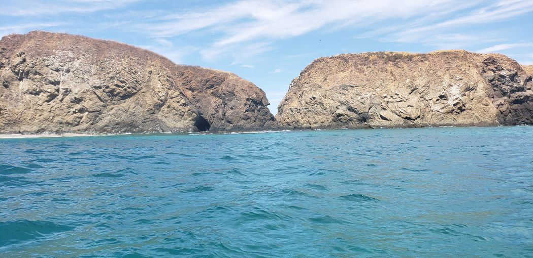 Water Blue Rock