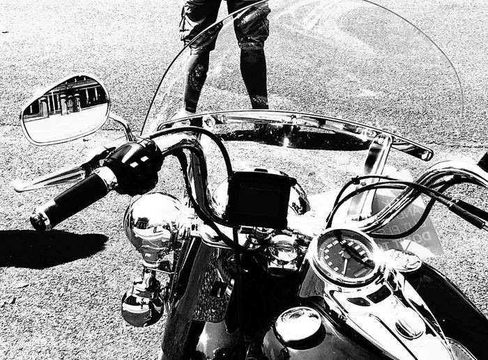 Black And White Blackandwhite Motorcycles Motorcycle Outdoors