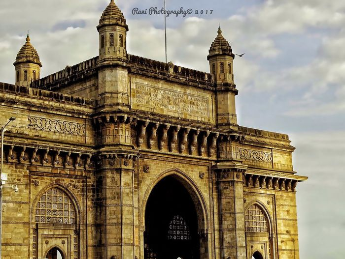 Architecture Built Structure Arch History Low Angle View Travel Destinations Building Exterior Sky Day Outdoors No People SonyHX400V EyeEmNewHere Mumbai MumbaiDiaries