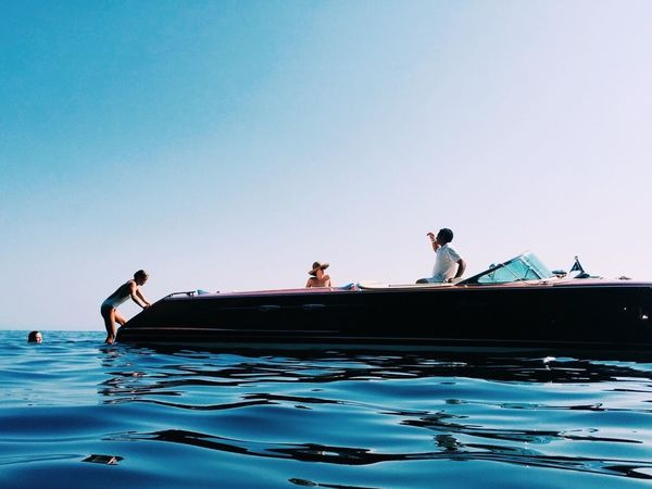 Beachphotography Sailing Boats Jamesbond Water Water Reflections Italy Europe Slimaarons Positano