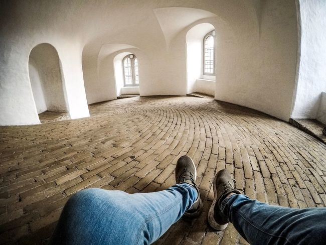 Copenhagen Gopro Pointofview POV Indoors  Real People Day Human Leg Low Section Lifestyles Human Body Part