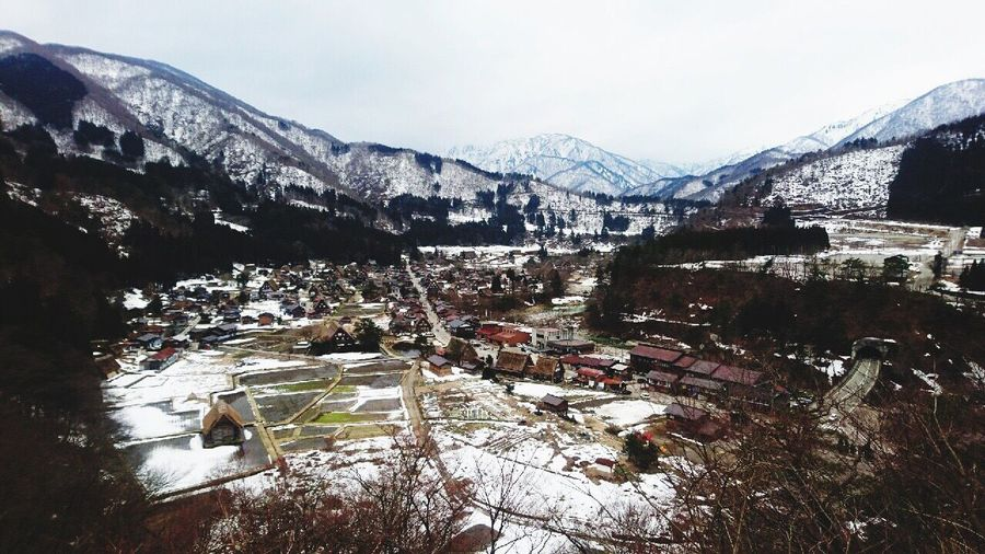 World Heritage World Heritage Site By UNESCO World Heritage Sites Hida Mountains Gihu Prefecture, Japan Snow Covered