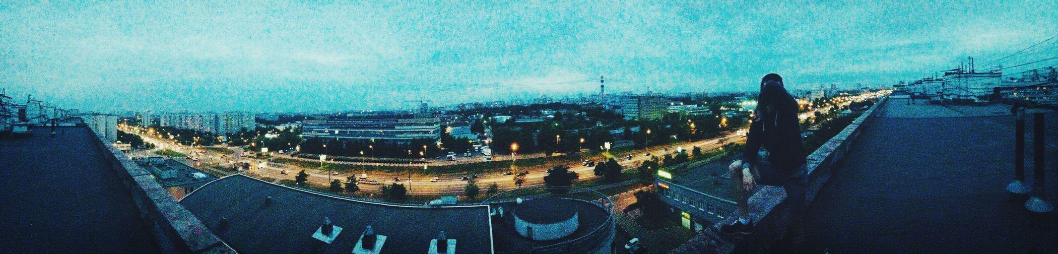 Панорама  с крыши First Eyeem Photo