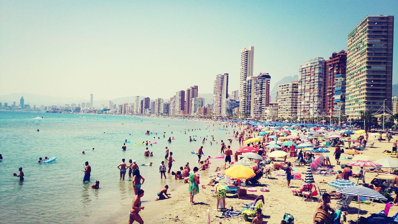 relaxo en la playa En La Playa